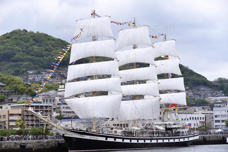 帆船の写真素材 [FYI00319615]