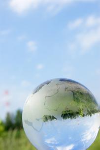 ガラス地球儀の写真素材 [FYI00320583]