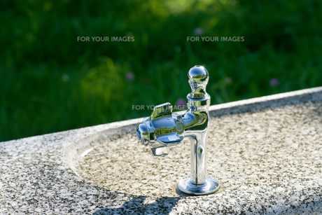 水飲み場の写真素材 [FYI00320605]