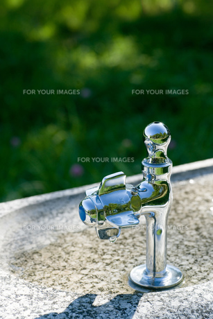 水飲み場の写真素材 [FYI00320611]