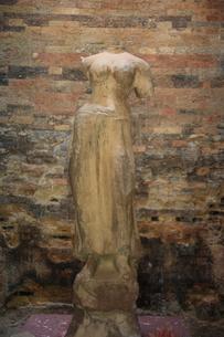 サンボール・プレイ・クックの女神像の写真素材 [FYI00320821]