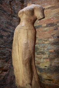 サンボール・プレイ・クックの女神像の写真素材 [FYI00320825]