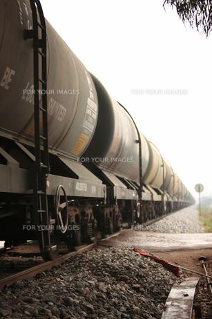 インド貨物列車の写真素材 [FYI00320847]