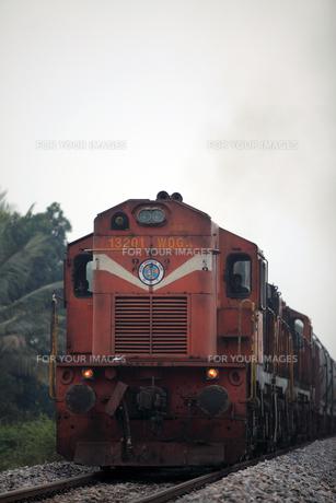 インド貨物列車の写真素材 [FYI00320861]