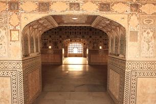 アンベール城の鏡の間の写真素材 [FYI00320915]