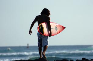 サーフィンの写真素材 [FYI00321431]