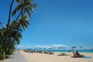 ワイキキビーチの写真素材 [FYI00321435]