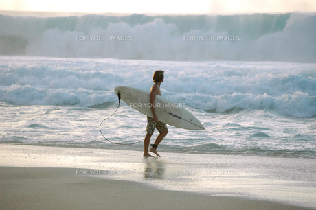 サーフィンの写真素材 [FYI00321440]