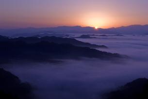 高野山の雲海の写真素材 [FYI00321454]