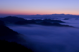高野山の雲海の写真素材 [FYI00321455]