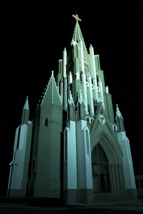 平戸教会の写真素材 [FYI00321470]