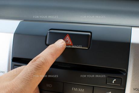 ハザード スイッチの写真素材 [FYI00321515]