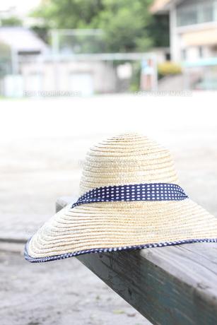 麦わら帽子の写真素材 [FYI00321747]