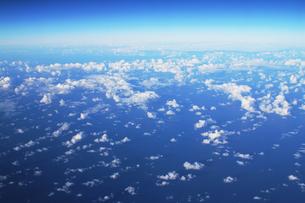 太平洋上空の写真素材 [FYI00321788]