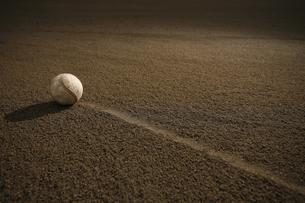 野球場に置かれたボールの素材 [FYI00321791]