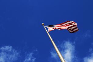 ハワイ州政府庁の星条旗の素材 [FYI00321796]