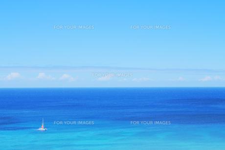 ハワイの海の素材 [FYI00321818]