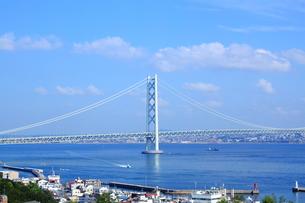 明石海峡大橋の写真素材 [FYI00321930]