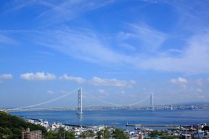 明石海峡大橋の写真素材 [FYI00321936]