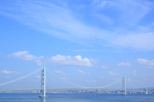 明石海峡大橋の写真素材 [FYI00321943]