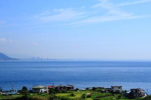 淡路島から見た神戸方面の写真素材 [FYI00321957]