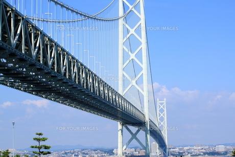 明石海峡大橋の写真素材 [FYI00321967]