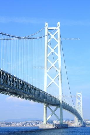 明石海峡大橋の写真素材 [FYI00321979]