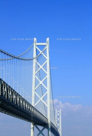 明石海峡大橋の写真素材 [FYI00321980]