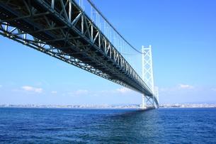 明石海峡大橋の写真素材 [FYI00321989]