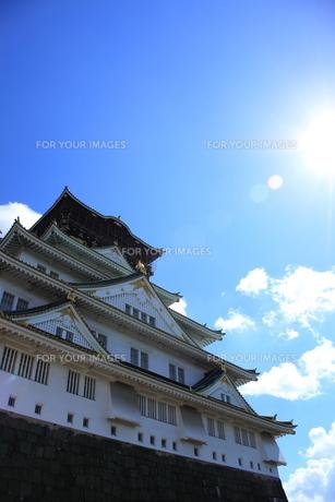 大阪城の裏側の素材 [FYI00322065]