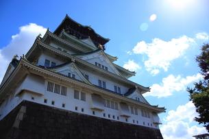 大阪城の裏側の素材 [FYI00322068]