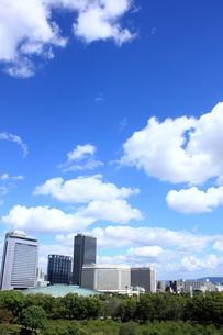 大阪ビジネスパークと大阪城ホールの素材 [FYI00322079]