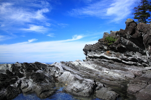 空と奇岩の素材 [FYI00322200]