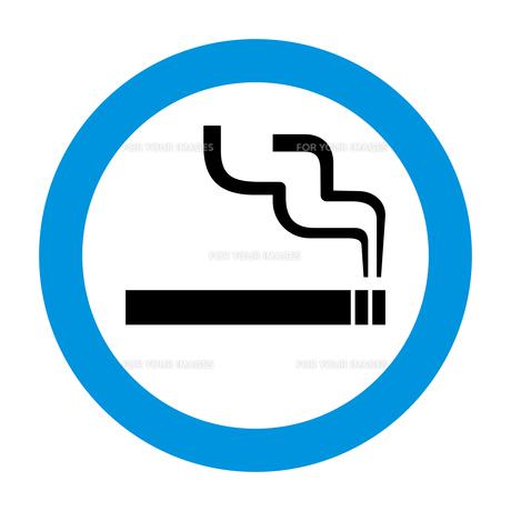ピクトグラム 喫煙 許可の写真素材 [FYI00322301]
