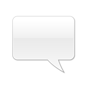 ふきだし 四角タイプ 右 (白色)の写真素材 [FYI00322379]