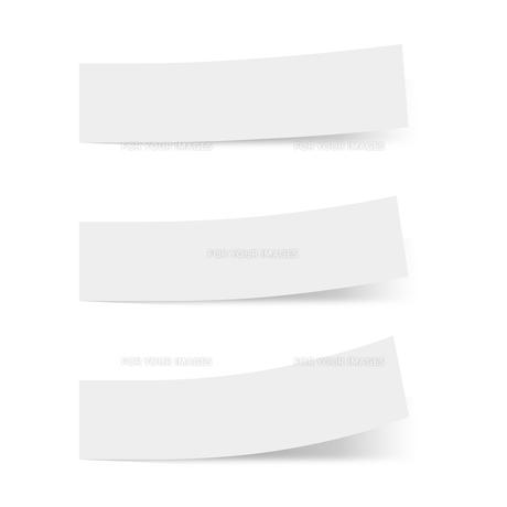 付箋紙 見出し ライトグレー(ベタ・単色)の写真素材 [FYI00322391]
