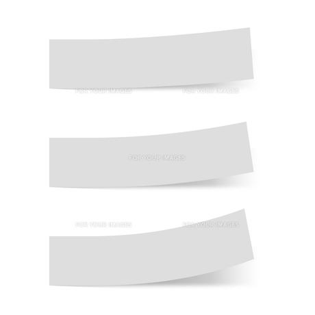 付箋紙 見出し グレー(ベタ・単色)の写真素材 [FYI00322393]