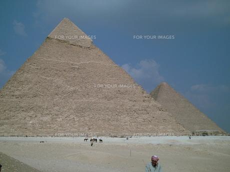 ピラミッドの写真素材 [FYI00322472]