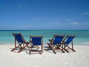 モルディブのビーチの写真素材 [FYI00322474]