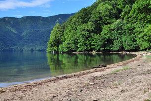 静寂の中禅寺湖の写真素材 [FYI00322605]