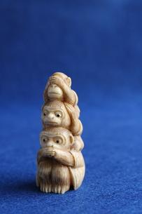 三猿の写真素材 [FYI00322699]