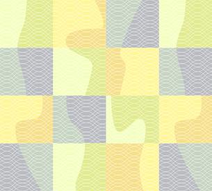 花瓶シルエットのパッチワークの写真素材 [FYI00322751]