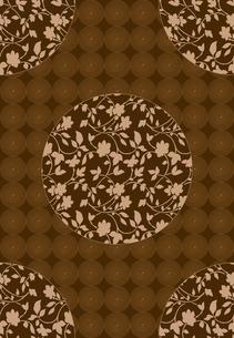 唐草と円形窓の写真素材 [FYI00322763]