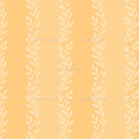 織物調の葉っぱ柄ストライプの素材 [FYI00322779]