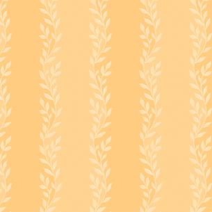 織物調の葉っぱ柄ストライプの写真素材 [FYI00322779]