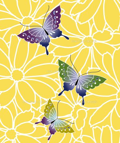 花と蝶の素材 [FYI00322791]