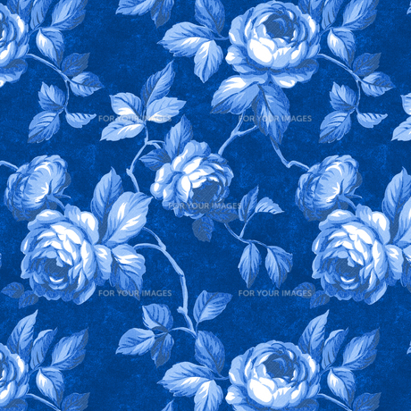 青いバラの素材 [FYI00322801]