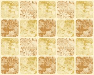 バラ花束のモダンなチェックの写真素材 [FYI00322803]