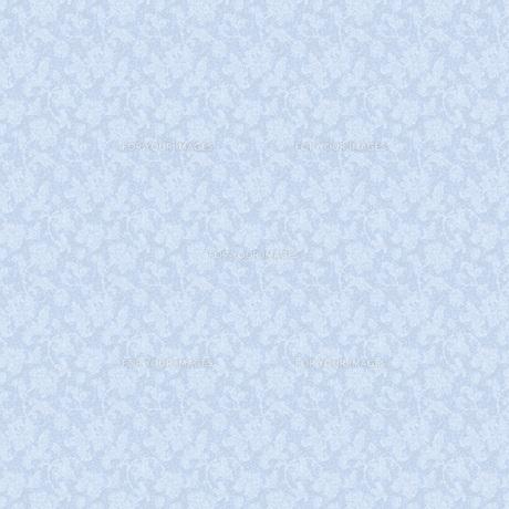 青い花のシルエットの素材 [FYI00322814]