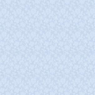 青い花のシルエットの写真素材 [FYI00322814]